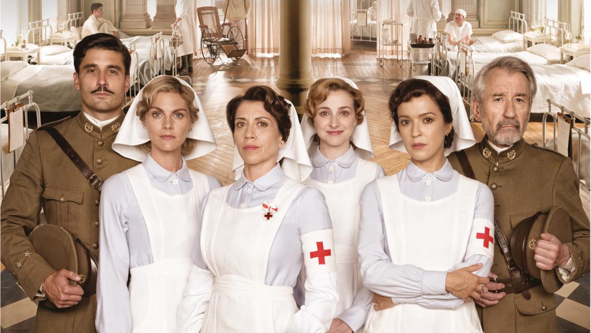 Imagen promocional de los protagonistas de la nueva serie de Antena 3 Tiempos de guerra.