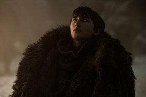Isaac Hempstead-Wright, como Bran Stark en 'Juego de tronos'.