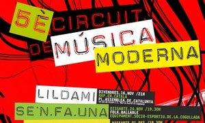 Terrassa cierra con éxito su Circuito de Música Moderna.