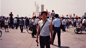 Yang Jianli on Tiananmen Square on June 3rd 1989.