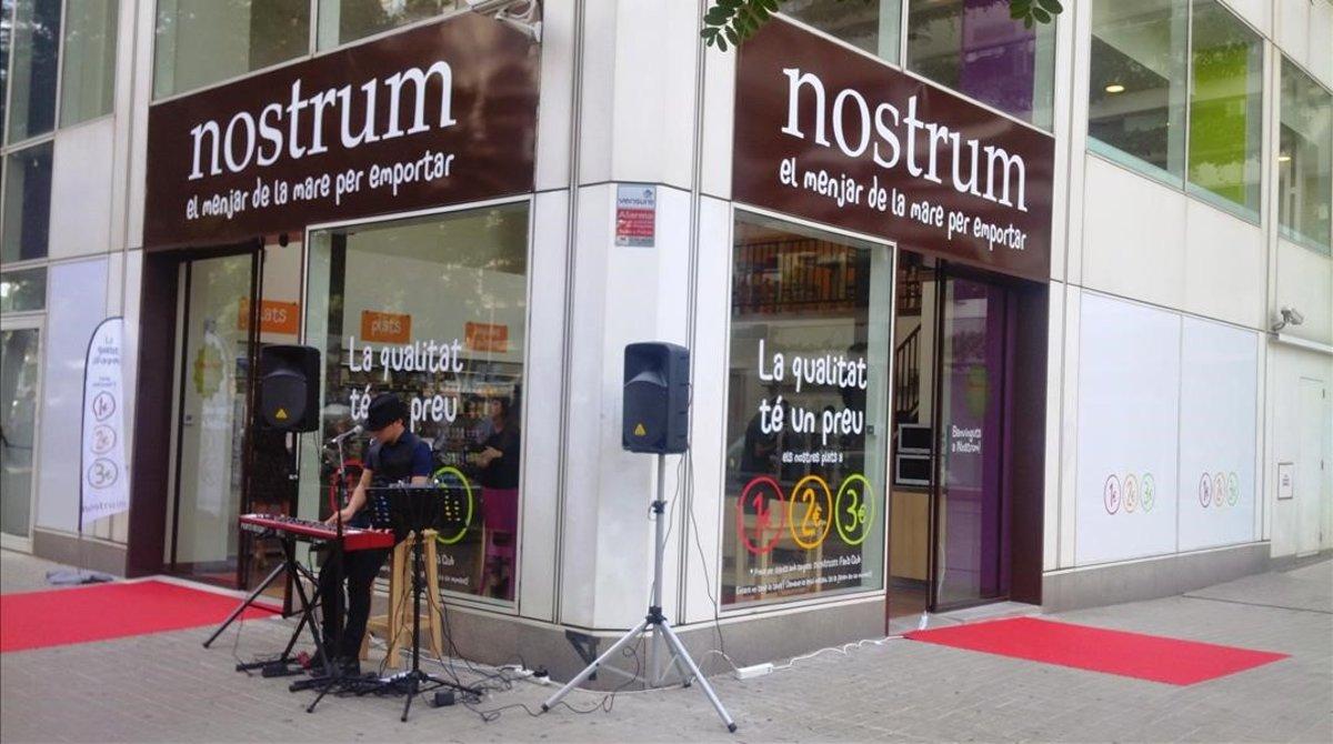 Tienda Nostrum, del grupo Home Meal, en Barcelona.