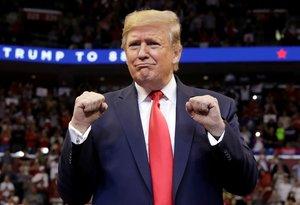 Trump fue sometido a un juicio político del cual alió bien librado.
