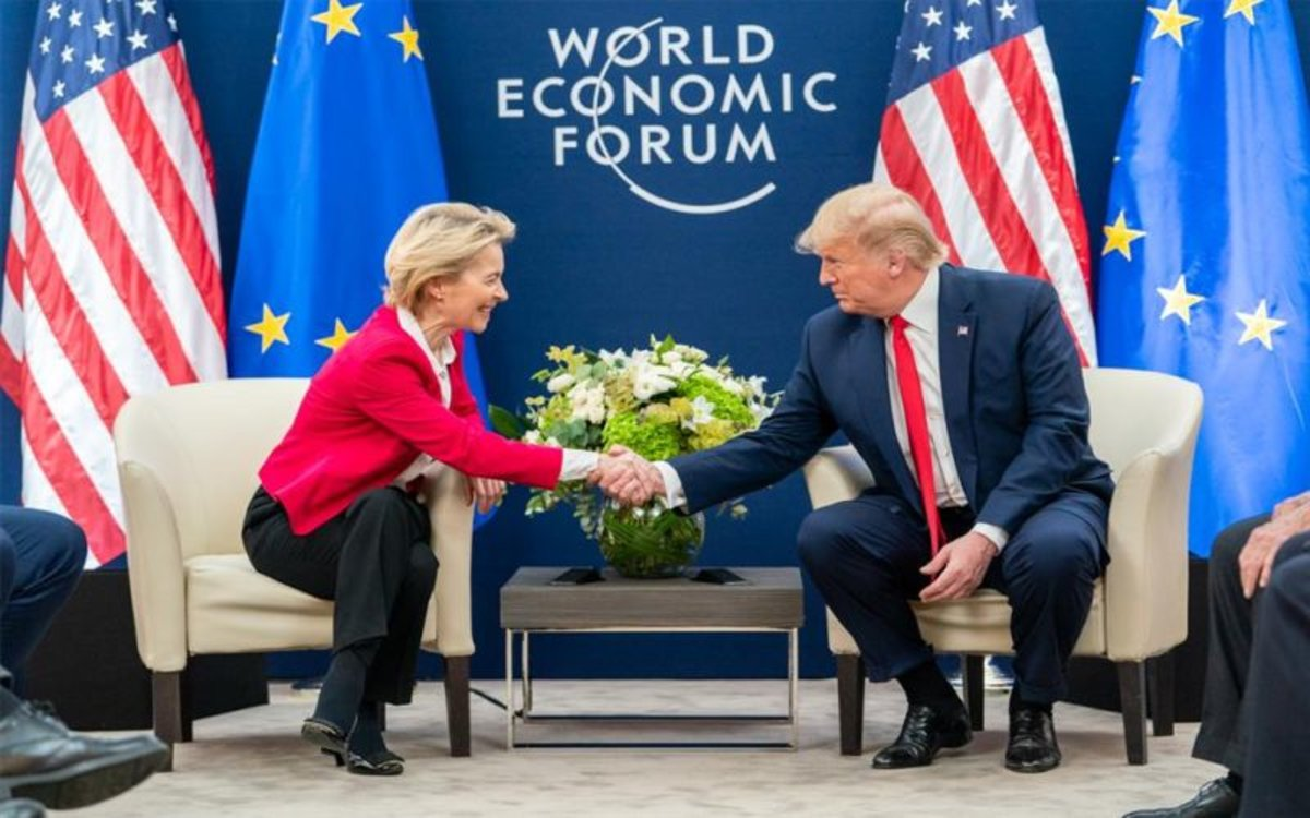 Atents a twitter: Trump va ara contra Europa