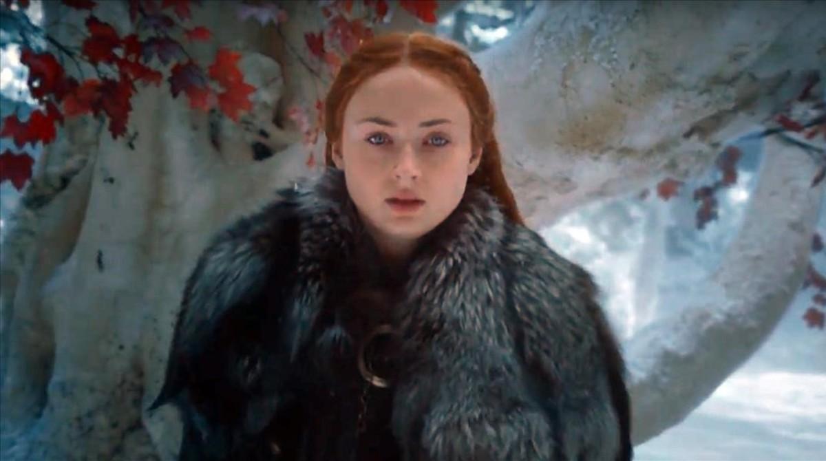 Una secuencia de Sansaabre el segundo trailer de la séptima temporada de 'Juegos de tronos'.
