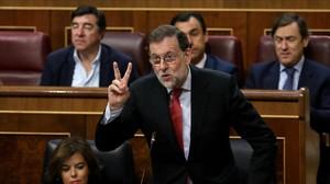 """Rajoy davant l'1-O: """"Estigueu tranquils, el Govern sap el que ha de fer"""""""