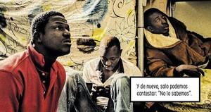 Viñetadel cómic La grieta, de Carlos Spottorno y Guillermo Abril.