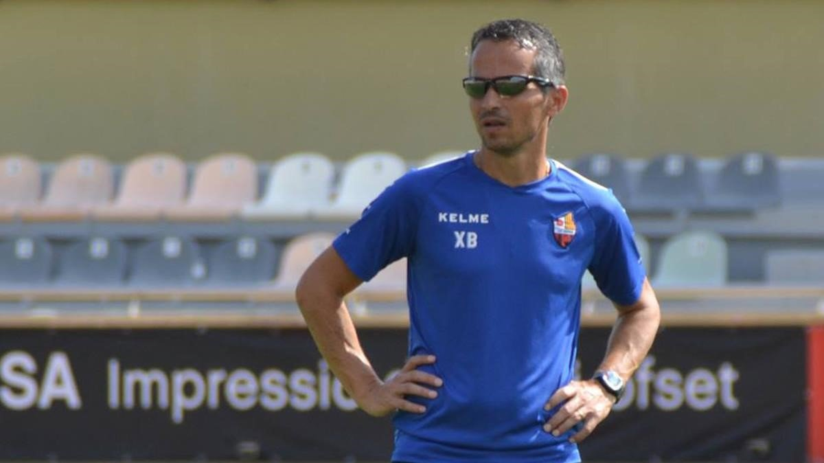 Xavi Bartolo, entrenador del Reus.