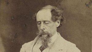 Charles Dickens en 1863 Fotografia de Robert Hindry Mason