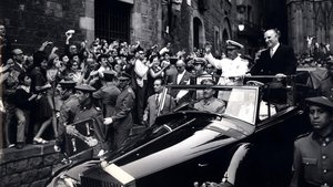 Visita de Francisco Franco a Barcelona en 1970.