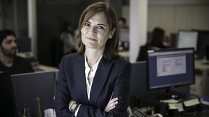 Gemma Sánchez en las oficinas de Detriavall.