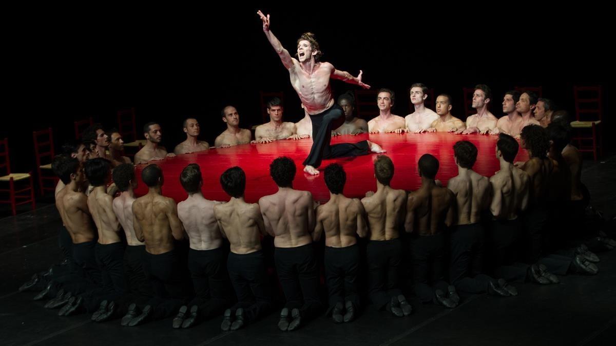 Bólero, mítica coreografía de Béjart.
