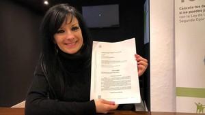 """María Teresa Marcos: """"Te hacen sentir una delincuente cuando no lo eres"""""""