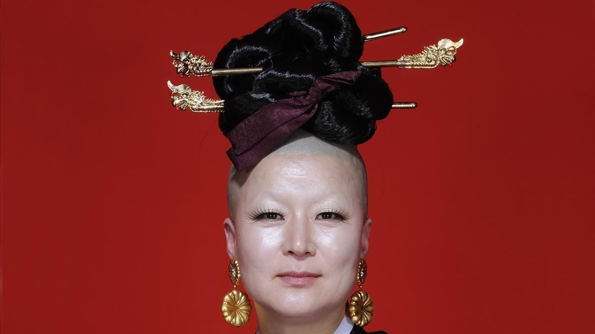 La coreógrafa y bailarina surcoreanaEun-Me Ahn.