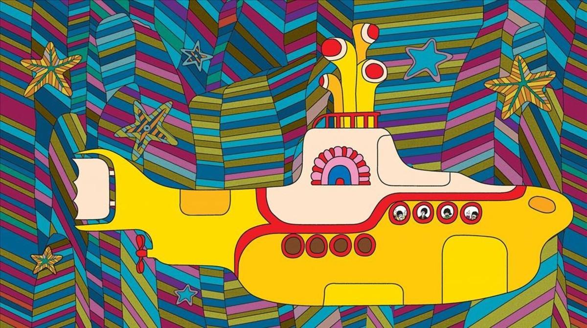 Una imagen de Yellow Submarine.