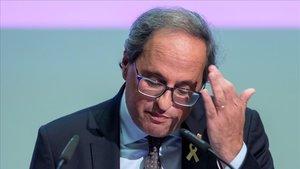 Els catalans suspenen Torra en el debat de política general