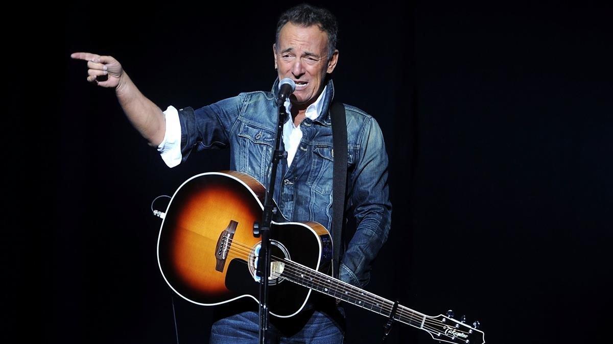 Bruce Springsteen, en Nueva York, en el 2018.