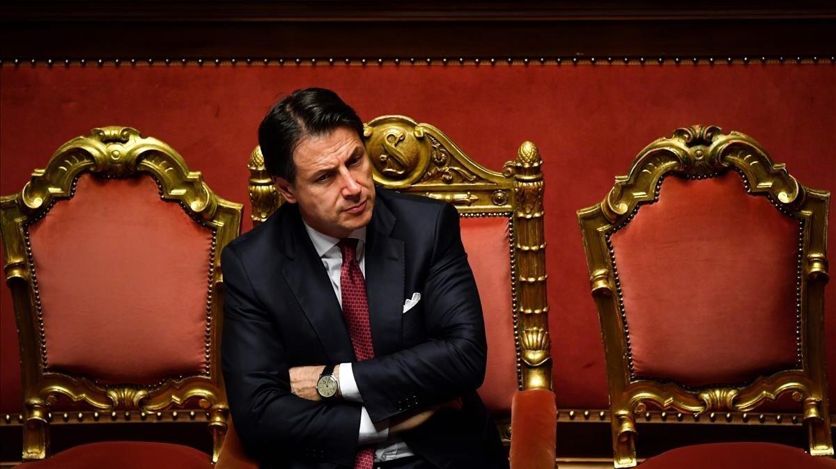 Conte anuncia la seva dimissió i acusa Salvini d'«irresponsable»