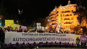 Marxes multitudinàries contra la violència masclista