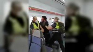 La captura de vídeo con la agresión.