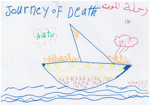 Síria i la fugida a Europa, amb ulls de nen