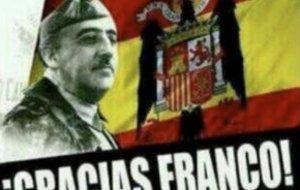 Imagen de Franco en el estado de WhatsApp de un regidor del PP en Cuenca.
