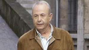 El juez José Castro, en la rampa de los juzgados de Palma el pasado 22 de diciembre.