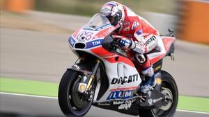 Dovizioso (Ducati), lanzado a por el título