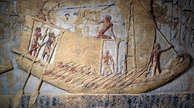 Egipto anuncia descubrimiento de una tumba de hace 4,400 años