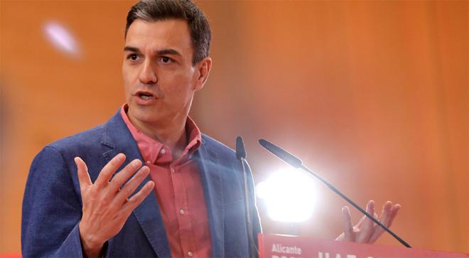 """Sánchez titllar Iglesias de mer """"mitjancer"""" i demana concentrar el vot en el PSOE"""