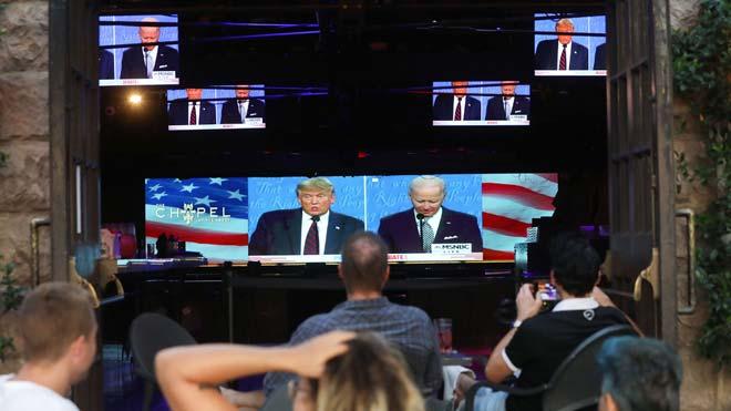 Els moments més tensos del debat entre Trump i Biden
