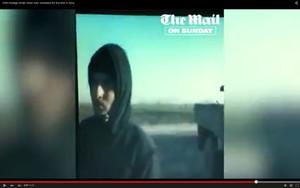 Imagen del vídeo en que se ve el rostro del yihadista John.