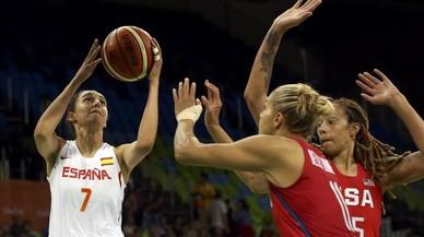 España no logra dar réplica al Dream Team femenino (63-103)