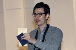 Alek Sigley, el estudiante australiano y detenido y liberado en Corea del Norte.