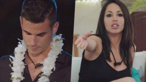 Álex y Melani en 'La isla de las tentaciones'.