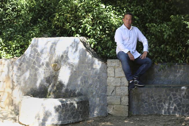 Julio Rico, creador de La Santa Market, disfrutó de niño y adolescente en el parque de la Font del Racó.