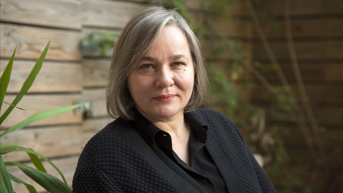 La autora alemana residente en Barcelona Stefanie Kremser, en Laie