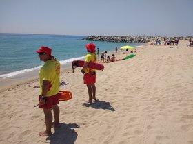 Tot a punt per al servei de vigilància, salvament i socorrisme a les platges de Mataró