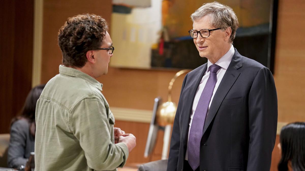 Bill Gates en la serie The Big Bang Theory.