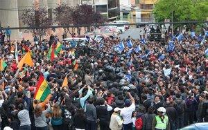 Bolívia demana empara a l'OEA davant d'un possible frau electoral