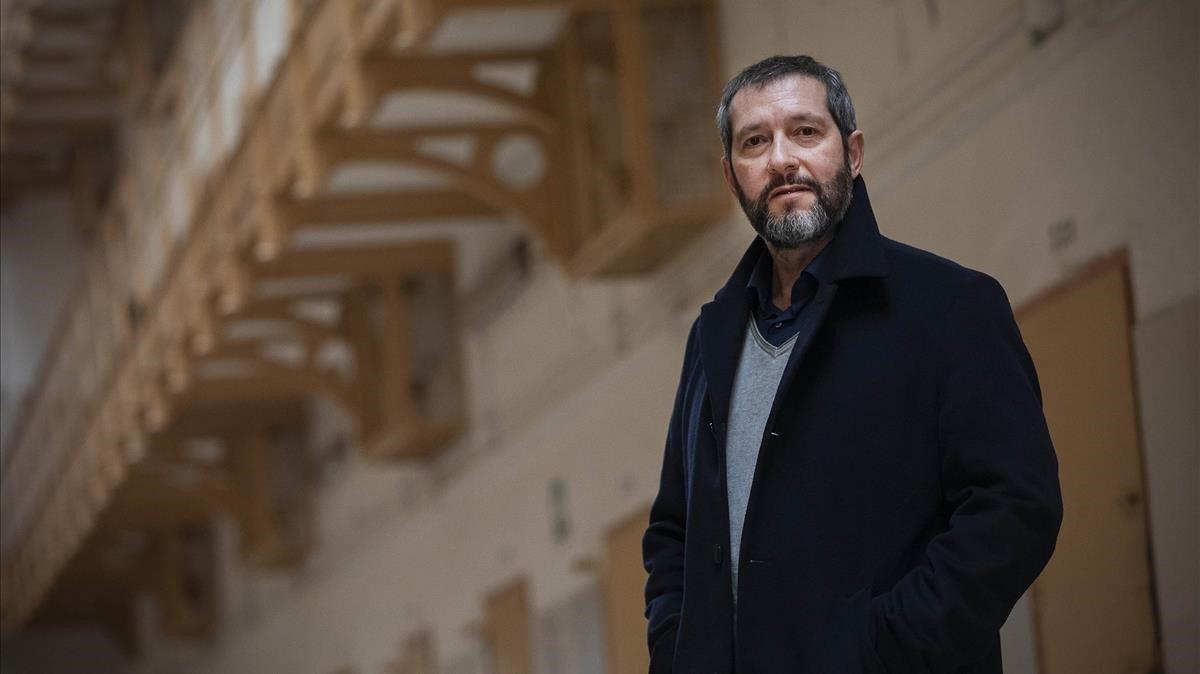 Carles Porta, presentador y director de 'Crims' (TV-3).