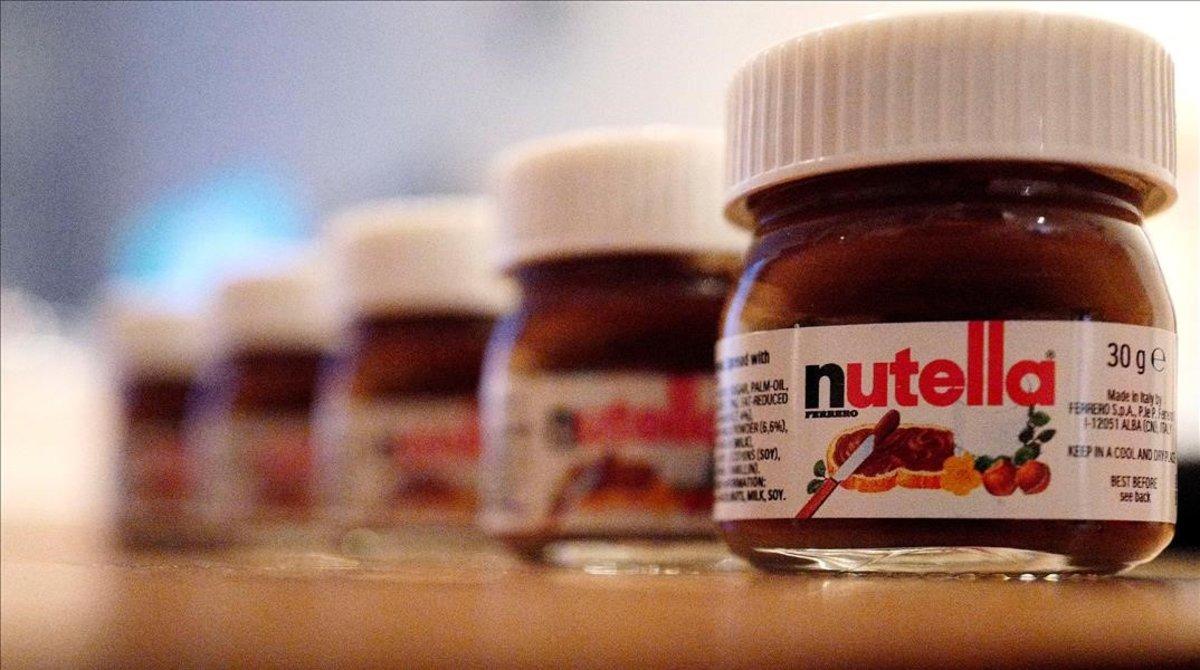 La conocida crema de cacao, Nutella.