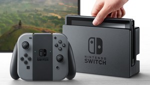 La consola Nintendo Switch.