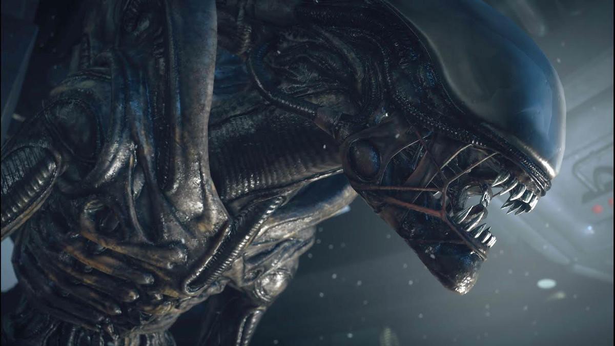 Detalle del legendario xenomorfo visto por primera vez en Alien, el octavo pasajero, de Ridley Scott, en 1979.