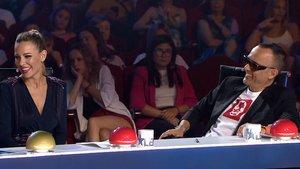 Edurne y Risto Mejide en 'Got talent'.
