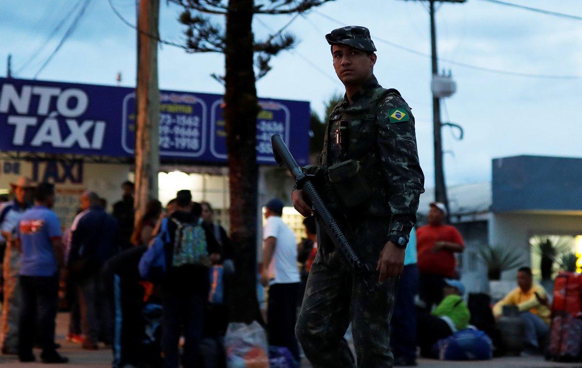 La presencia de los efectivos se debe al actual cuadro de inestabilidad en la seguridad pública de Roraima, por la migración de venezolanos.