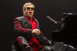 Elton John en un concierto en Ámsterdam, el pasado 22 de noviembre.