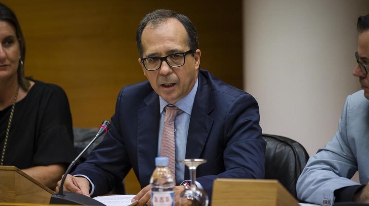 Enrique Soriano, presidente del consejo rector de la nueva radiotelevisión valenciana.