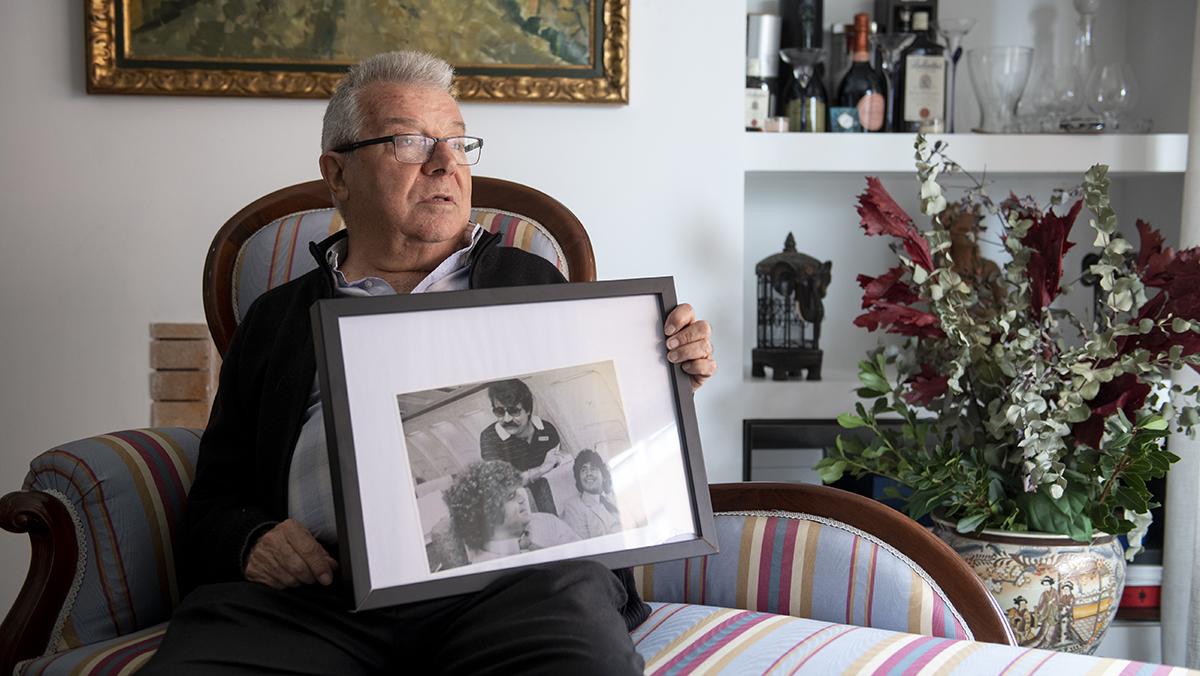 Josep María Minguella, exrepresentante de jugadores, repasa 50 años de su vida en la primera línea del fútbol.