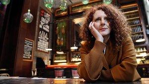 La escritora irlandesa Maggie OFarrell, en su visita a Barcelona.