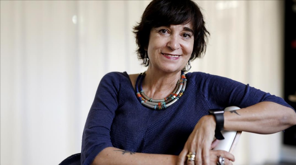 La escritora Rosa Montero (Madrid, 1951).